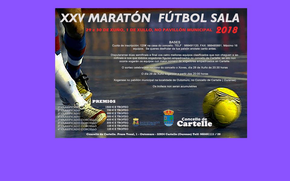 Maratón fútbol sala