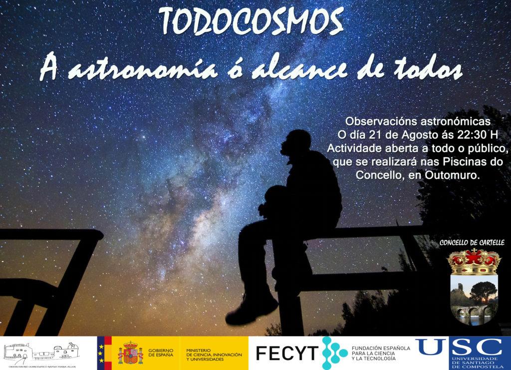 Observación astronómica en Outomuro