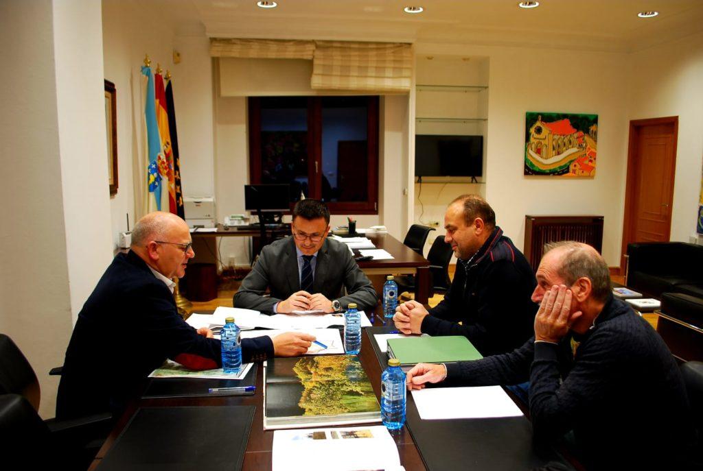 Reunión co conselleiro de Medio Rural