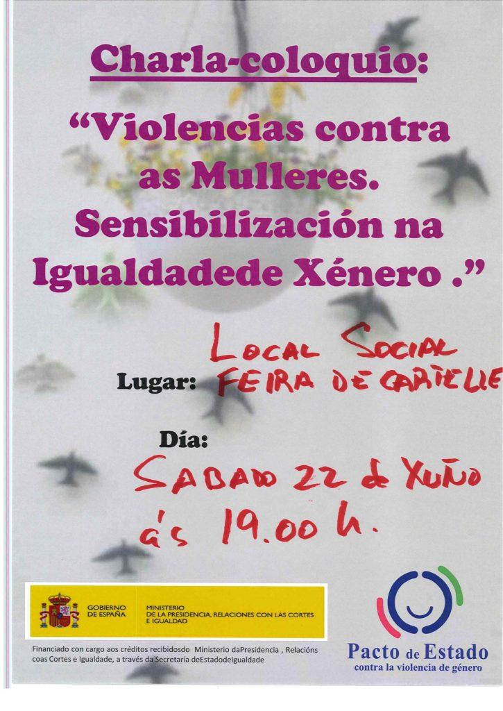 Charla Violencia de xénero