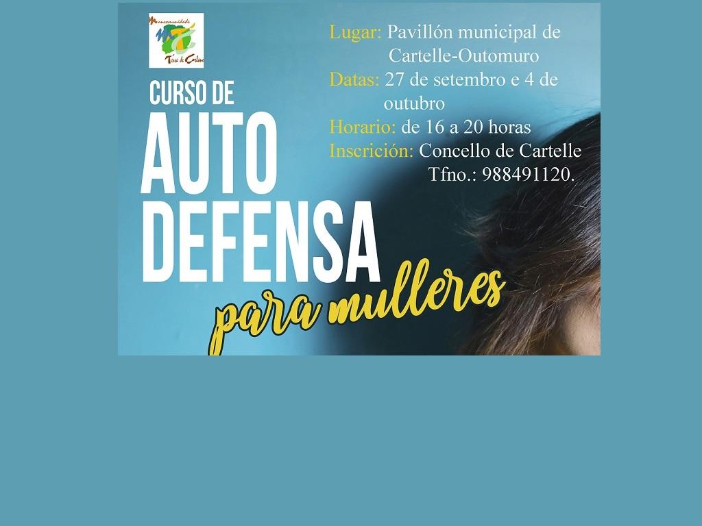 Curso de autodefensa para mulleres