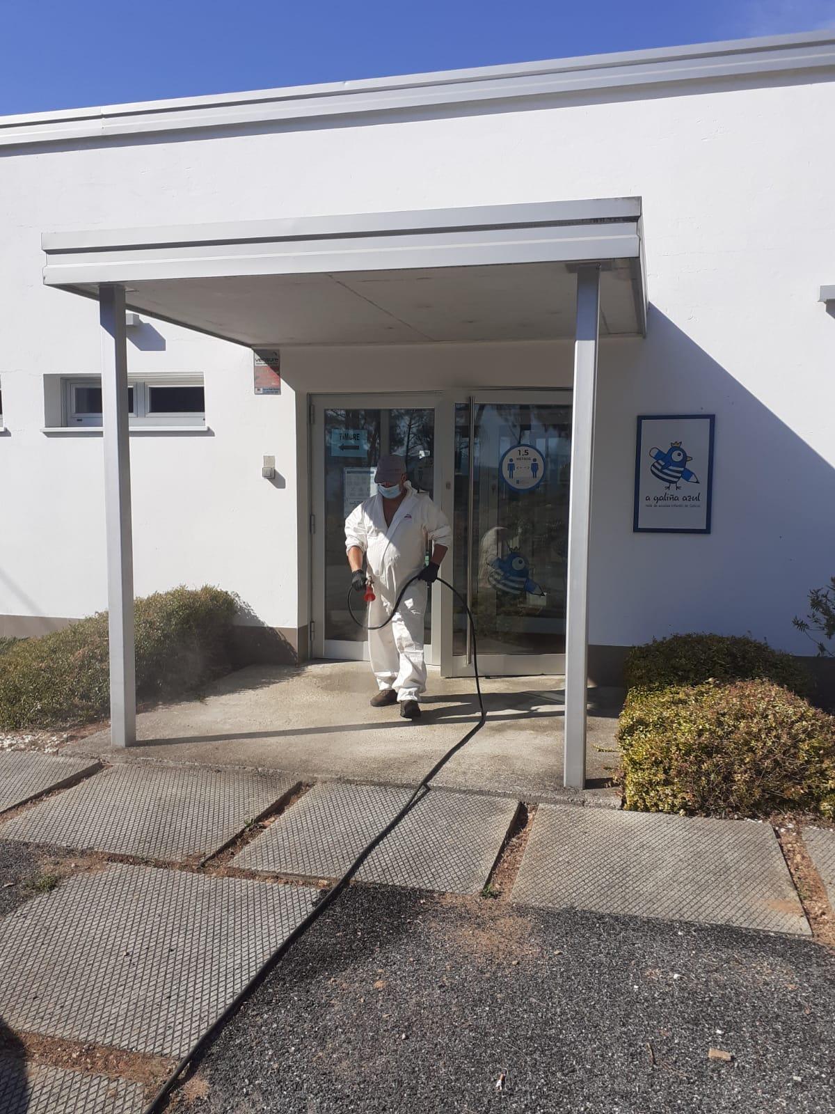 Desinfección Gardaría Cartelle