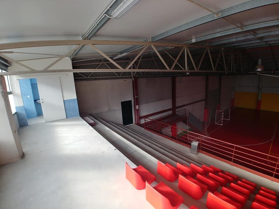 Pavillón polideportivo de Cartelle