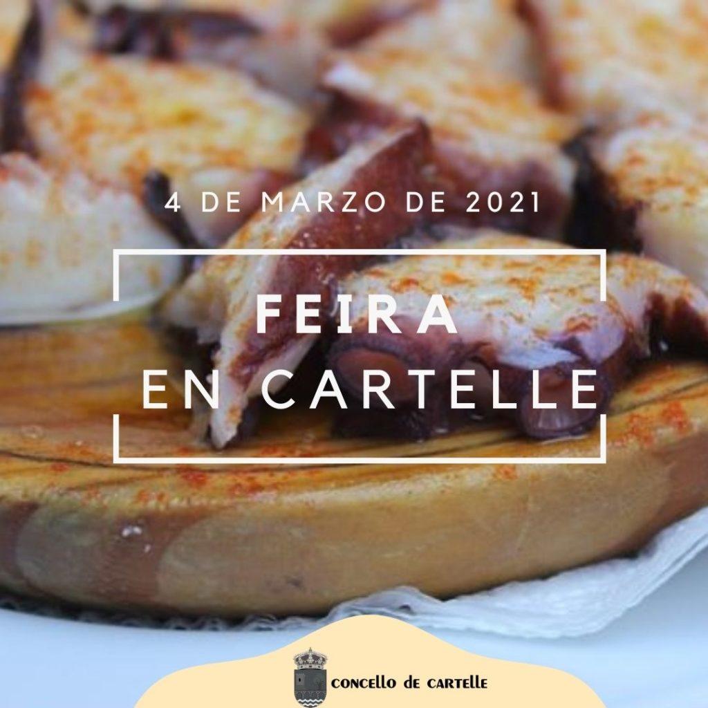 4 marzo 2021 - Feira en Cartelle
