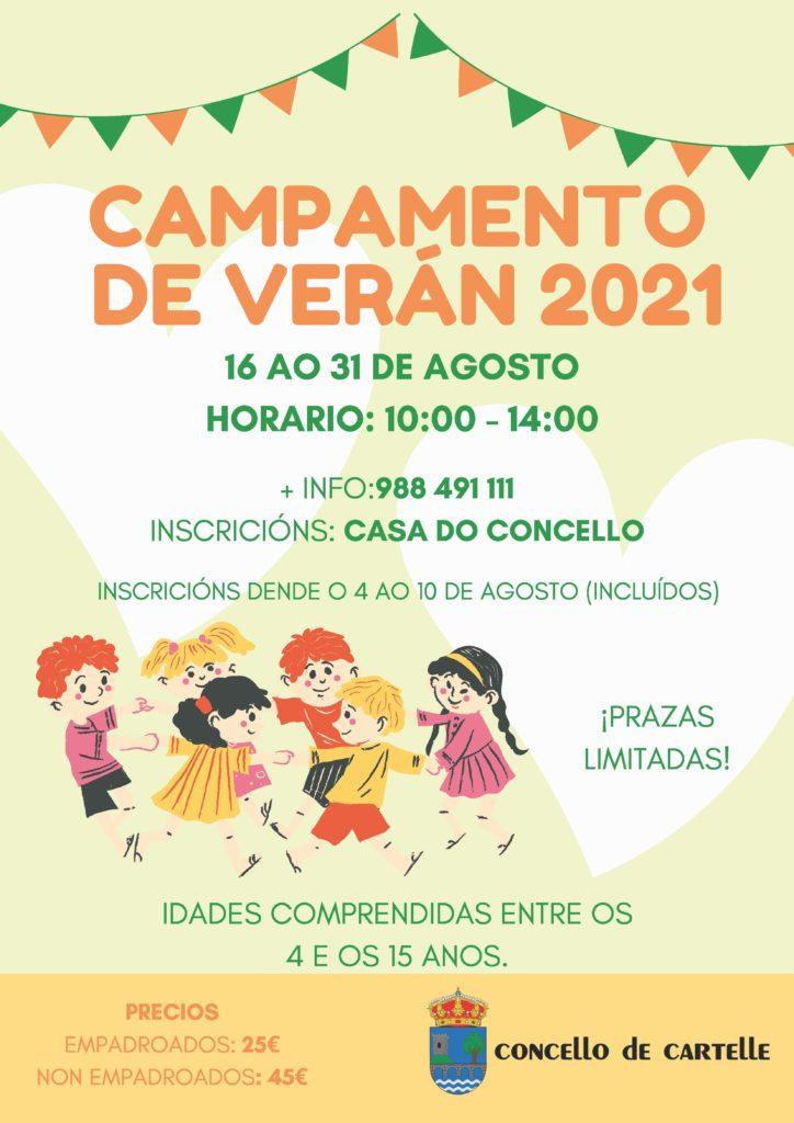 CARTEL_SEGUNDO_CAMPAMENTO_CONCELLO_CARTELLE
