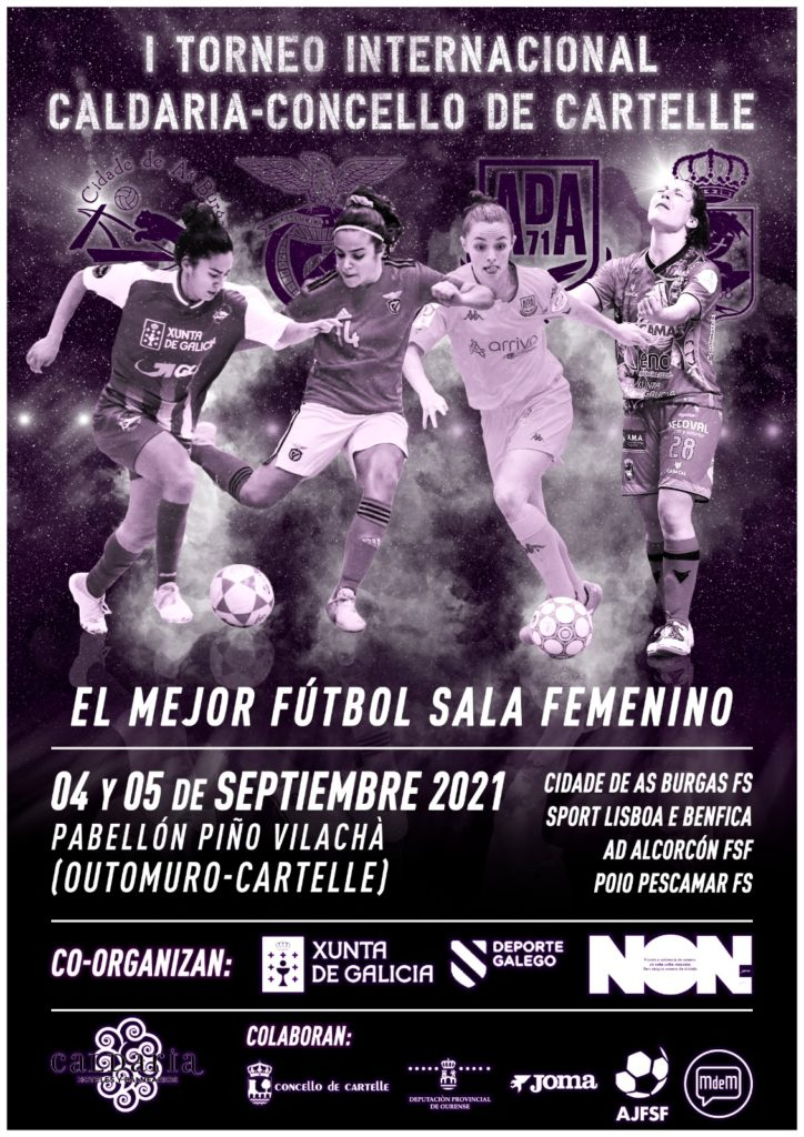 I Torneo fútbol sala feminino Caldaria-Concello deCartelle